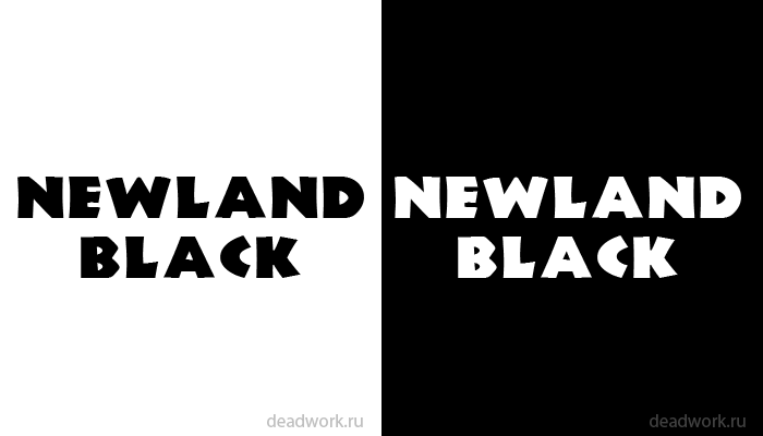 Preview Newland Black