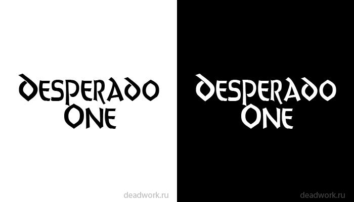 Скачать шрифт Desperado One (ENG)