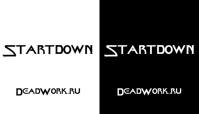 Скачать шрифт Startdown (ENG)