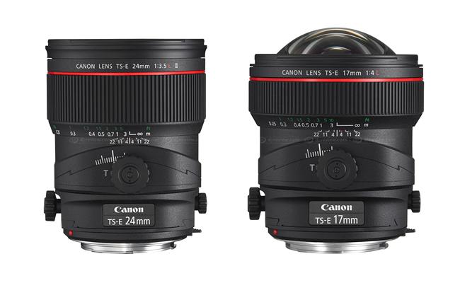 Маркировка объективов Canon - TS-E