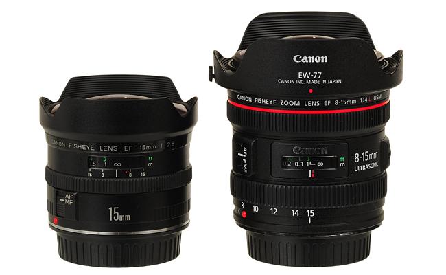 Маркировка объективов Canon - Fisheye