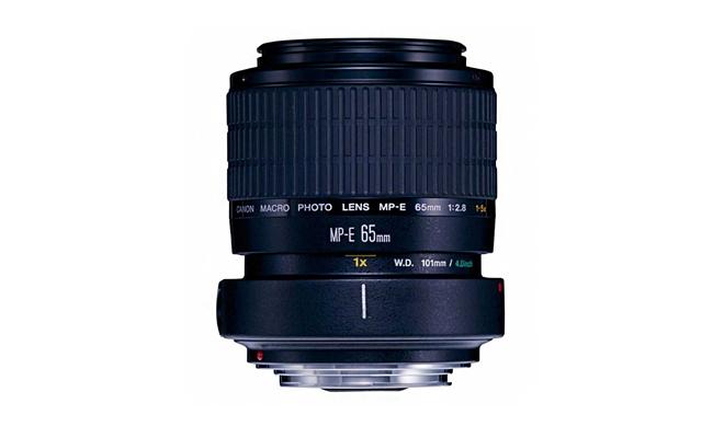 Маркировка объективов Canon - MP-E