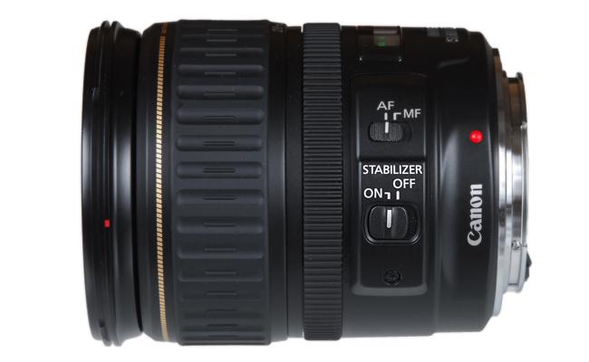 Маркировка объективов Canon - IS