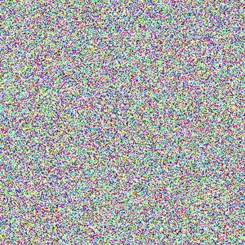 Случайный цифровой шум изображения