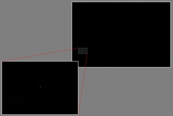 Постоянный цифровой шум изображения