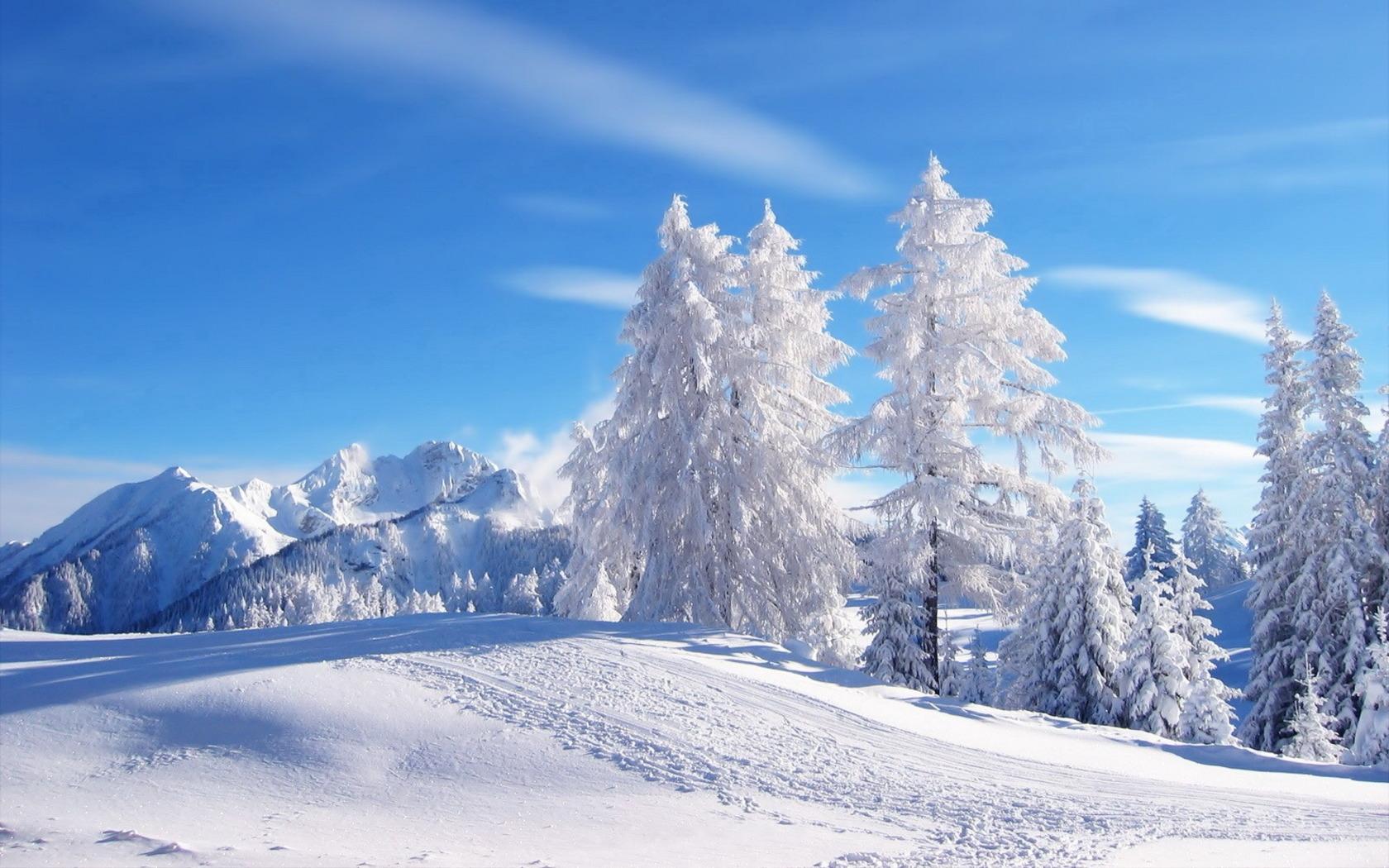 Пейзаж зимой