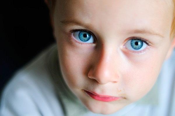Правильная фотография глаз