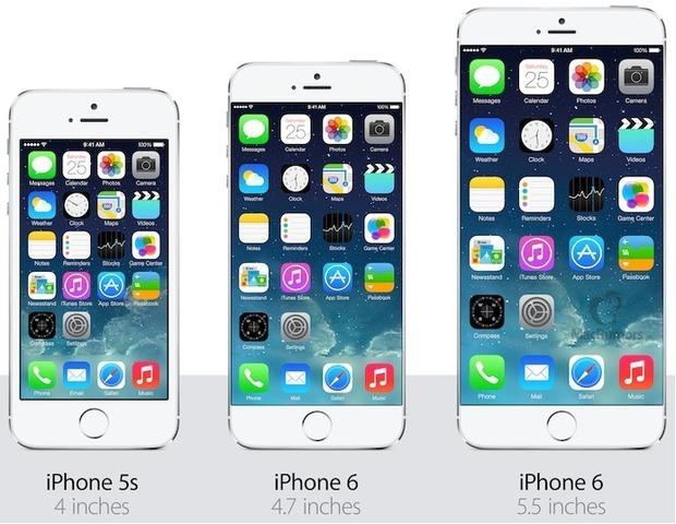 Отличия в iPhone 6