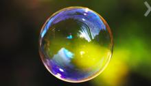 Фотография мыльного пузыря