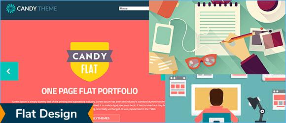 Флэт в веб дизайне